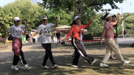 现在很火的24步俄舞,广场上都在跳,带教学动作分解!