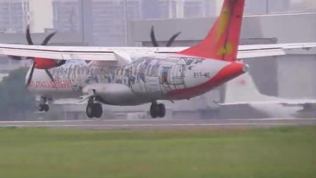 谁见过这架飞机?是啥型号?