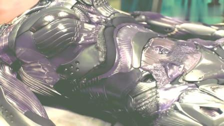 高清战斗天使:阿丽塔装上狂战士战甲,堪比钢铁侠的血边战甲
