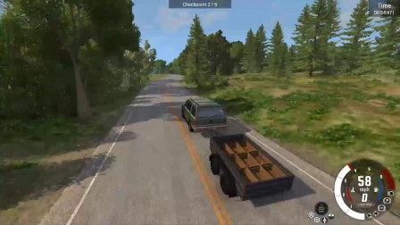 车祸模拟:水果递送场景模拟