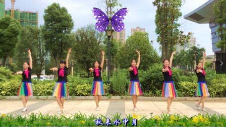 原创南嘉广场舞《酒醉的蝴蝶》附背面及分解