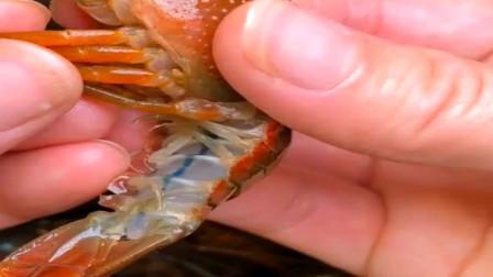 教你快速清理小龙虾,看似麻烦,其实很简单的!