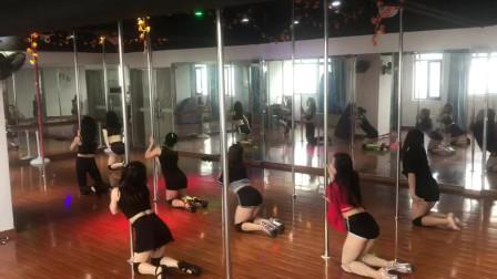 美女特训班,舞蹈教程钢管舞