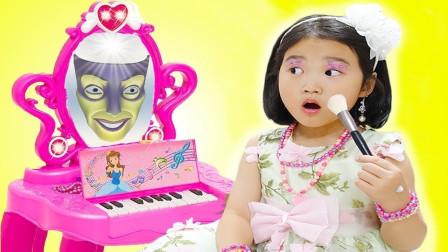 宝蓝儿童亲子萌宝乐园!宝蓝家的神奇魔法镜子!