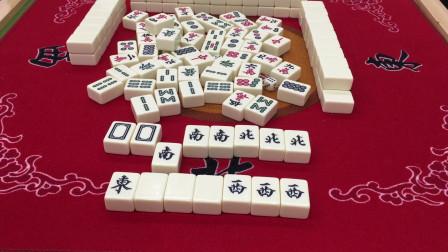 教你怎么打字一色,这把杠上自摸,你能学会这种打麻将的技巧吗?
