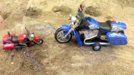 遥控把摩托车变大