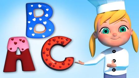 英语启蒙慢速儿歌,学习颜色和学习ABC
