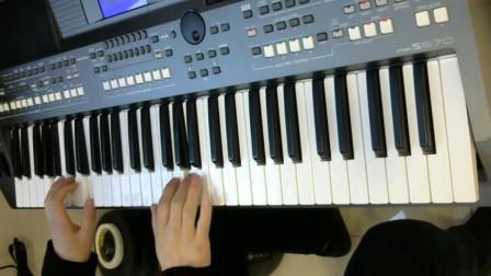 电子琴(爱江山更爱美人)雅马哈975 电子琴交流 电子琴教学