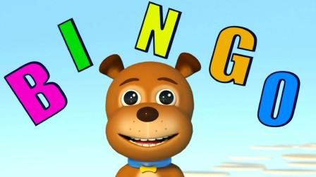 英语启蒙慢速儿歌,小猴子和小朋友一起荡秋千