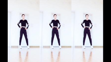 原创瘦腰健身操,每天15分钟,快速瘦腰部,动感热身.