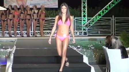 2019洛杉矶时装周世界小姐大赛泳装秀,完美展现女人魅力气场!