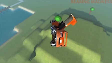 beamng.drive:超级跑车跳过巨型机器人