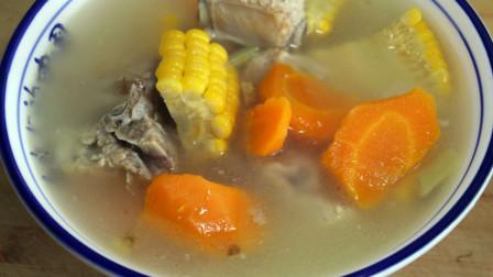 爱吃玉米排骨的在家这样炖,排骨软烂,汤汁鲜美,看着就好吃