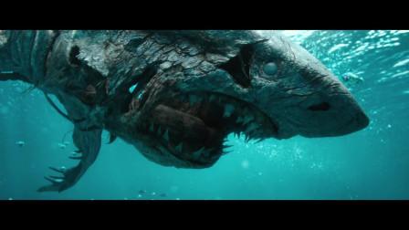 加勒比海盗5:死无对证:已经死掉的鲨鱼放进海里,居然活了过来