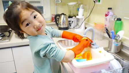 宝蓝儿童亲子萌宝乐园!和宝蓝一起给房间做大扫除!
