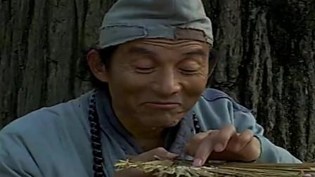 济公游记:徒弟说谎,多要三粒米,济公要他去干三十天活!