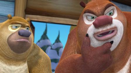 熊出没大冒险第一百八十五期:熊大熊二摘蜂蜜,都受伤了