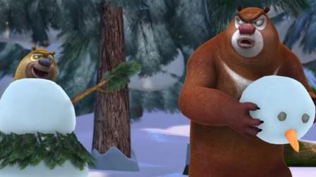 熊出没大冒险第一百九十期:熊二想吃糖,熊大只能去给他买