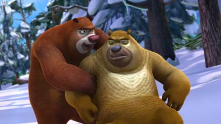 熊出没大冒险第一百九十五期:熊大熊二救了光头强,光头强很感激
