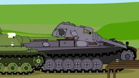 坦克世界动画:黑豹寻女,T-34帮助了他!【中文字幕】