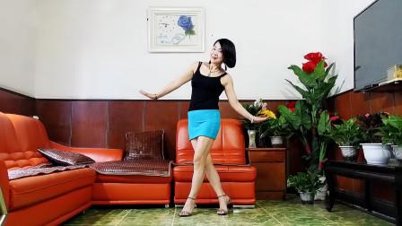 静儿舞蹈《DJ新欢旧爱》网红32步恰恰零基础步子舞