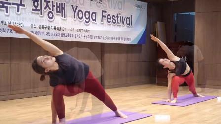 第二届城北区协会长瑜伽庆典 (1)