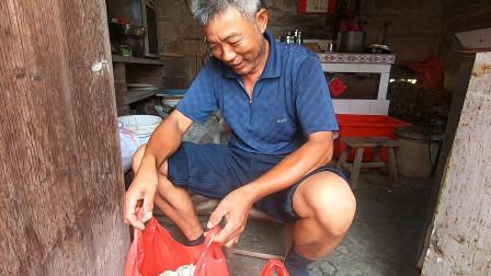 泰叔进城看望儿女,早起赶海筹备货物,只因孩子说想念家的味道