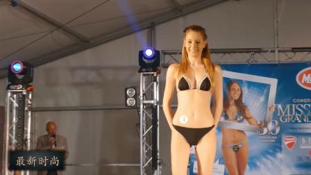 芝加哥世界小姐选美大赛,清秀靓丽的超模,苗条又高挑