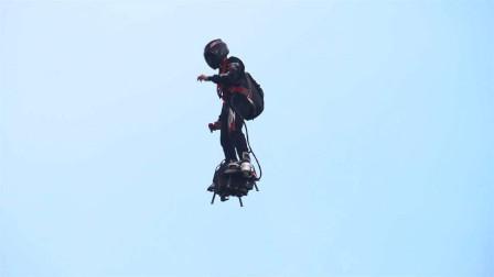 """亮眼!法国大阅兵惊现""""超级英雄""""!飞行士兵这种高科技适合现代部队吗?"""