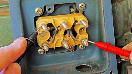 判断电机好坏,只需测量这2个电阻就可以了,老电工不愿教的技术