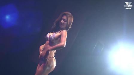 韩国健身小姐模特大赛,让你感受天使面孔和肌肉女生的混搭