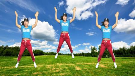 广场舞 健身减肥瘦身操 4分钟爆汗,瘦腰减脂,效果好