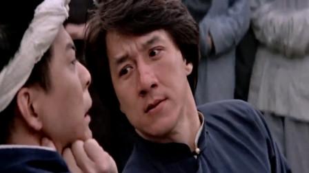 成龙经典电影:不能在女人面前丢脸,蔡李佛挑战黄飞鸿输了也不认