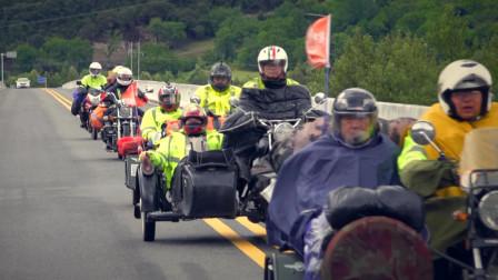 决定带着爸爸一起去西藏,骑着摩托车从川藏线到拉萨!