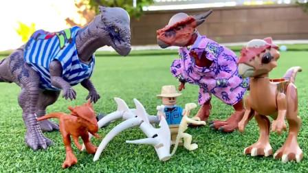侏罗纪世界玩具音乐视频之歌儿童教育恐龙歌曲