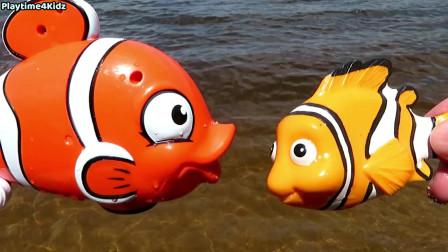 海洋动物玩具宝宝妈妈学习动物名字孩子的教育玩具