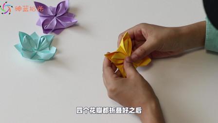 教你制作手工DIY莲花,做法简单又美观,小朋友都很喜欢