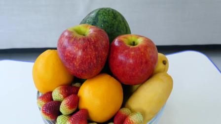 是的爸爸用童谣为孩子们学习水果