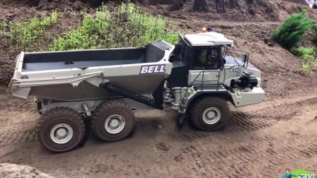 钢筋混凝土施工现场钢筋混凝土卡车钢筋混凝土拖拉机钢筋混凝土挖掘机