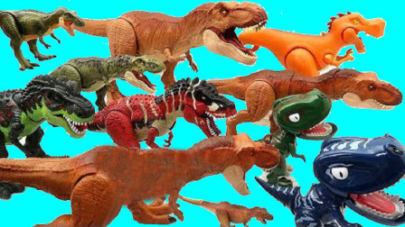 认识了解各种恐龙形态
