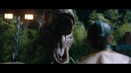 侏罗纪世界2:霸王龙这一脚,可是出了大事,将所有恐龙放了出去