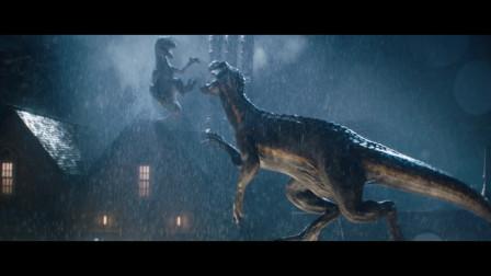 侏罗纪世界2:这只小恐龙无敌了,秒杀大自己35倍的霸王龙