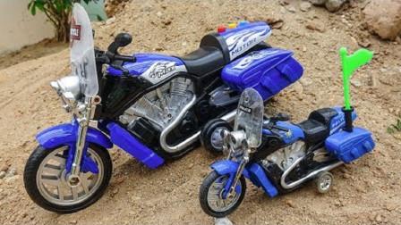 摩托车变大搅拌车飞机校车变颜色