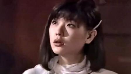 恐怖电影:姑娘刚到学校同学扮鬼吓她,其实姑娘身边有一只是真鬼