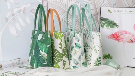 唐兔兔 清新时尚夏日度假大容量提手布艺制作手工DIY材料包