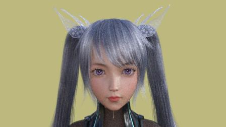 DAZ3D 二次元cosplay美女动画展示