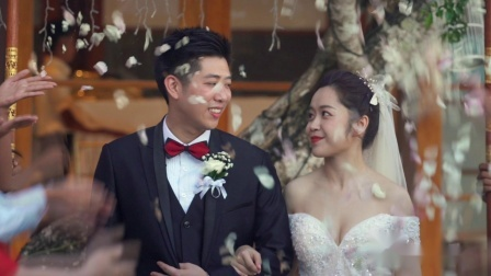 TS婚礼视频定制:Grace&Alan | 巴厘岛婚礼电影