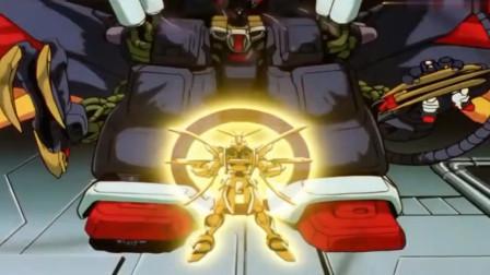 机动战士高达:巨型尊者高达VS明镜止水神高达,这台词好羞耻!