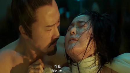 王朝的女人:黎天王与范爷最热血的一段戏,生离死别的吻!