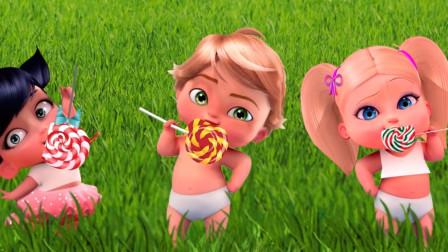 寇依小时候就欺负玛丽娜?吃糖都不安分,瓢虫雷迪游戏